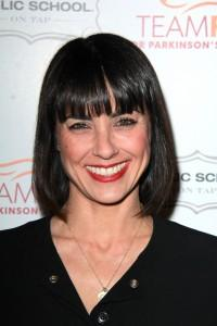 Constance Zimmer with a banged bob